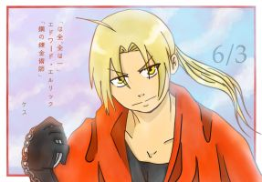 Edward Elric by Eduardo-kun