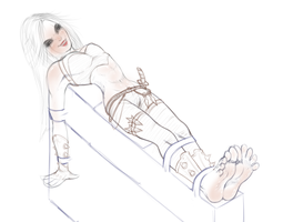 [WIP] Katarina tickled (almost.. xd) by wtfeather