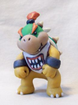 Bowser Jr. by superclayartist