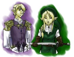 Legend of Zelda: Role reserval by shiolein