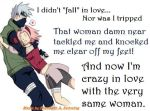 Glomp - Kakashi X Sakura by LonelyLover203