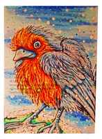 Robin- ACEO by Septimosis