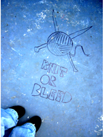 Knit or bleed by pissboy