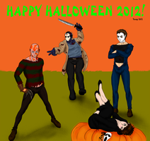 Happy Halloween 2012! UPDATED by Ynnep