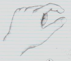 Handsketch by theworldiveknown