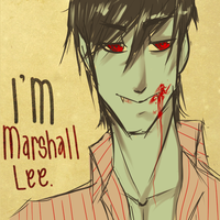 i'm marshall lee by iskizzers