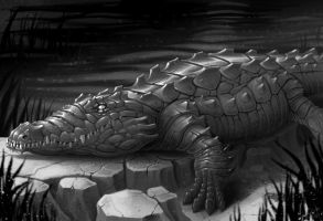 Mutated crocodile by TheDjib