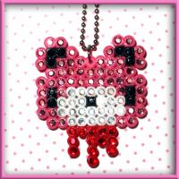 Gloomy Bear Jeweled Necklace by SugarAndSpiceDIY