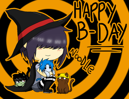 Happy B-Day - Noodle by AniiTaRuiz