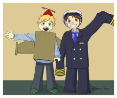 Collab - Plane And Pilot by n4c9s