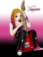 Avril Lavigne - Pretty in Pink by phoenixcrash