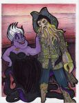 Odd Couple-Ursula by peanutjester