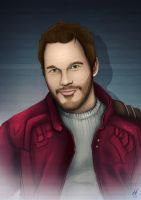 Peter Quill (Star Lord) by MatthewHogben