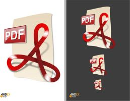 icon PDF by AndexDesign