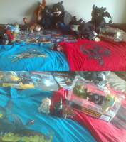 ALL MY MERCHANDISE FOR HTTYD UPDATE #4 by PokeLoveroftheWorld