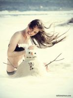 Sand or Snow? by talikf