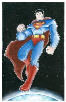 superman by mjfletcher
