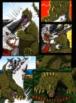 Attack On Monster Island Page 6, Commission by kaijukid