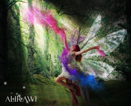 The Dancing Fairy by AliRawi