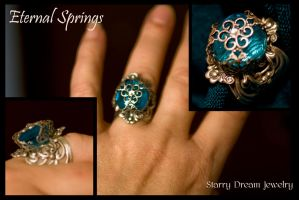 Eternal Springs Ring by LeeAnneKortus