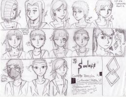 souless order with new ppl by XigbarsLover9