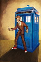 Tenth Doctor by reaperfox