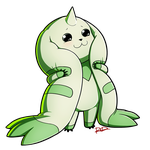 Terriermon by AnArtistCalledRed