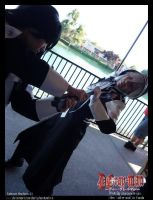 Kanda attacks Allen by darkphantomhive