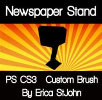 Newspaper Stand PS CS3 Brush by estjohn