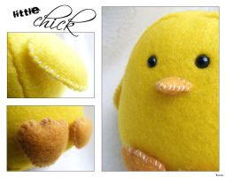 Little Chick Felt Plush by Kuvu