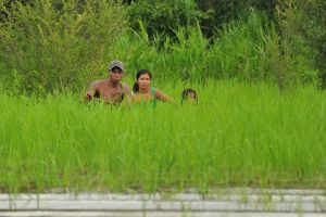 Family in the Amazon by somebody3121