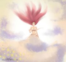 Cloud Goddess by Eychbee