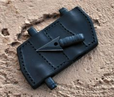 ESEE Arrowhead Sheath by Obsidian-Sun