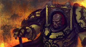 Corrupted Rogal Dorn.Dornian Heresy by DiegoGisbertLlorens