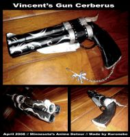 Cosplay Prop :: Vincent's Gun by Kuroneko13