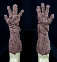 Golem Gloves Sculpt 01 by burgerstrings