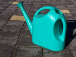 Watering Can Stock by Stockopedia