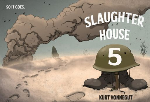 Slaughterhouse 5 Book Illustration by ladyseal