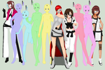 arrancar girls ::currently open:: by LilacWalker