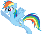 Rainbow Dash is WINNING by Shardii