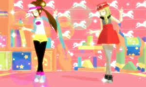 [MMD] Electric Star - Rosa and Serena +Vid Link by SapphireRose-chan