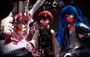 {MMD x FNAF} Hey there, need a hand~? by TaMaCHI-iNsAnITY