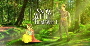 Snow White and the Huntswolf by nackmu