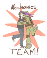 Mechanics TEAM! by Neko-mirichan
