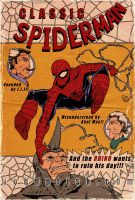 Vintage Spidey by JohnPrisk
