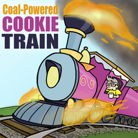 Coal-Powered Cookie Train Album Cover by petirep