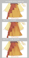 SAI Coloring Walkthrough: Clothing by arulie