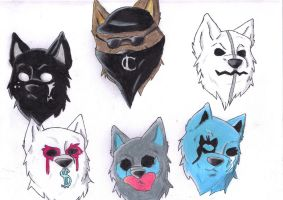 Hollywood Undead by wolf1228