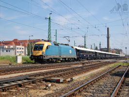 470 001 with Orient Express in Gyor in may, 2012 by morpheus880223
