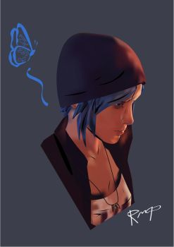 Chloe Price Borderlands/Telltale Games Style by SemaThrace